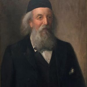 Oil portrait of Charles William Cayzer senior, in later life