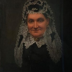 Oil painitng of Mary Elizabeth Cayzer (nee Nicklin) in later life