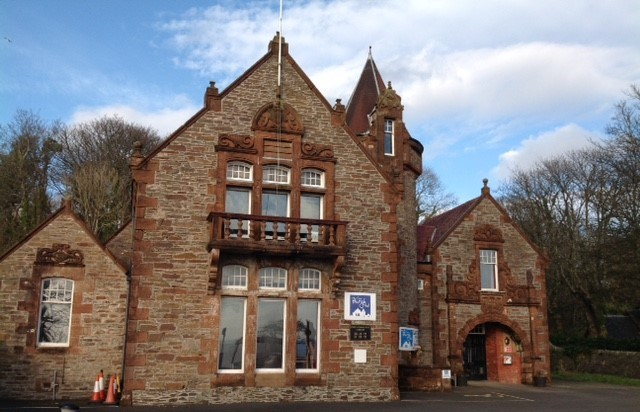 Burgh Hall, Cove, 2019